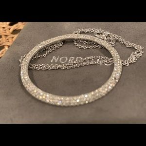 Jewelry - Pave crystal necklace